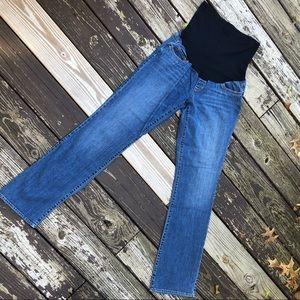 Liz Lange Maternity Straight Leg Jeans- Med. Wash